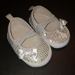 9 to 12 months sparkly/glitter shoes